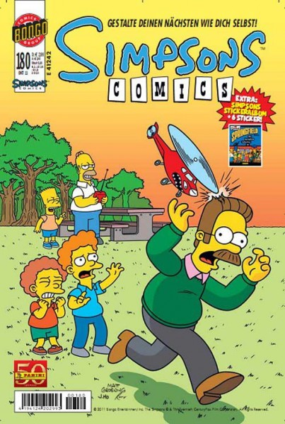 Simpsons Comics 180