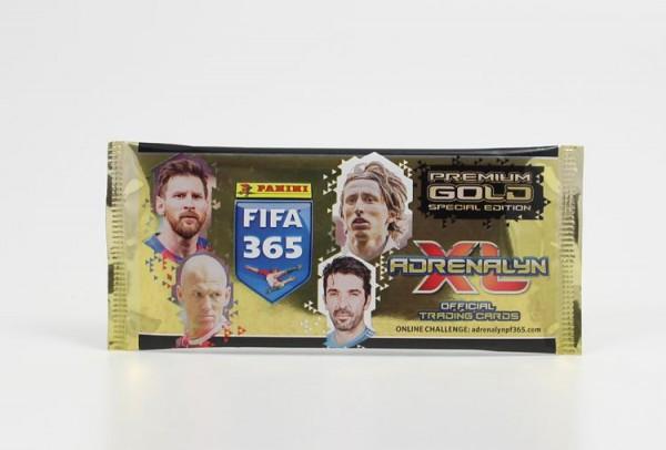 Panini FIFA 365 2018 Adrenalyn XL Trading Cards - Premium Gold Tüte