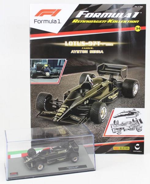 Formula 1 Rennwagen-Kollektion 34: Ayrton Senna (Lotus 97t)