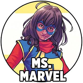 Panini Ink - Marvel - Ms. Marvel