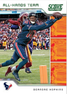 NFL Score 2020 Trading Cards - DeAndre Hopkins