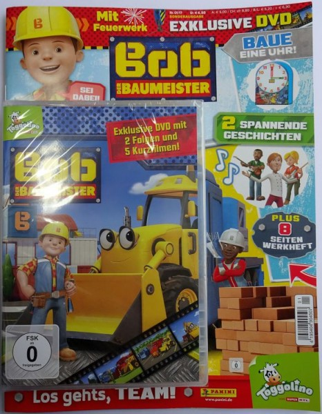 Bob der Baumeister Magazin 01/17