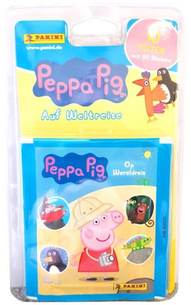 Peppa Pig Stickerkollektion - Blister