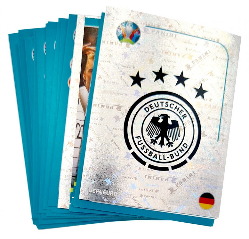 UEFA EURO 2020 Official Sticker Preview Collection - DFB Team Set