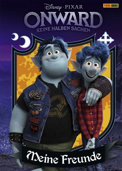 Disney Pixar: Onward - keine halben Sachen Freundebuch Cover