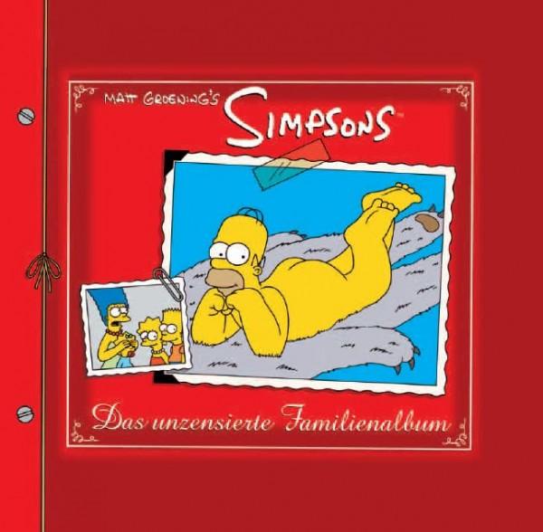 Simpsons Buch: Das unzensierte Familienalbum