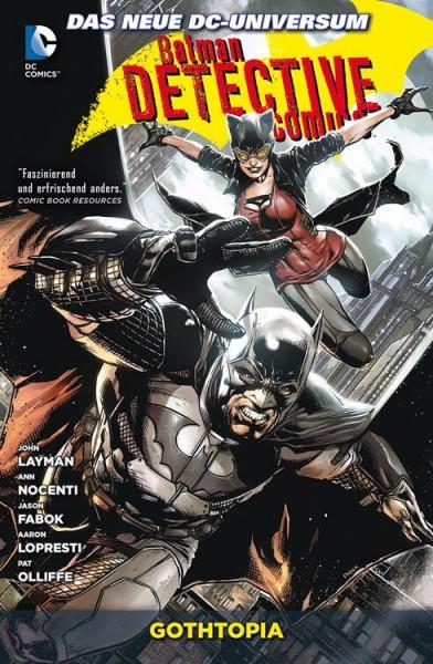 Batman Detective Comics 5: Gothtopia Cover