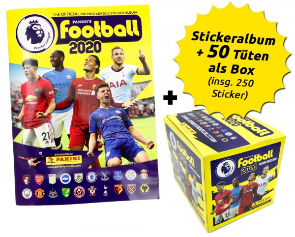 Premier League 2020 Stickerkollektion – Box-Bundle
