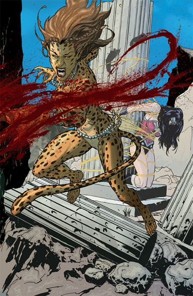 Wonder Woman gegen Cheetah! Hardcover