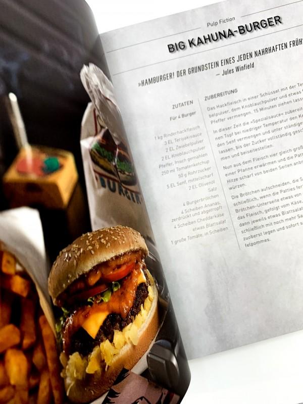 Geek-Kochbuch Hollyfood Blick ins Buch