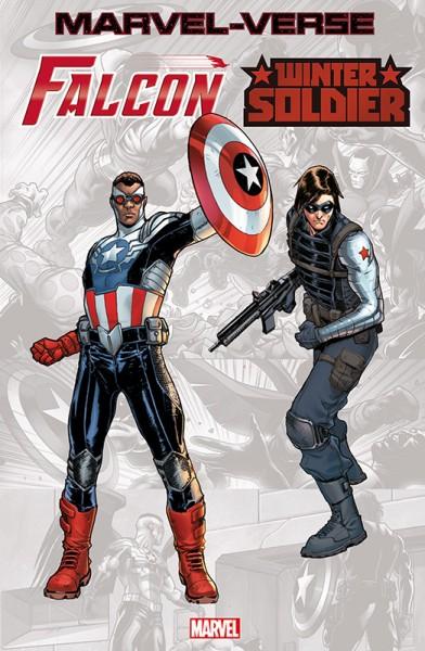 Marvel-Verse: Falcon & Winter Soldier Cover
