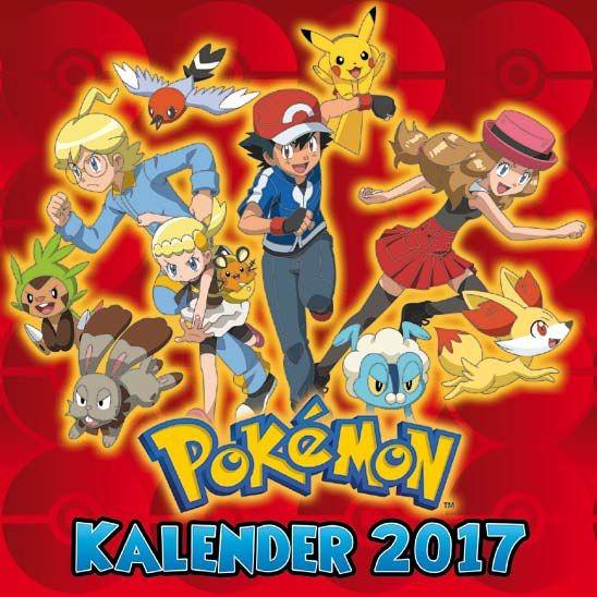 Pokémon - Wandkalender (2017)