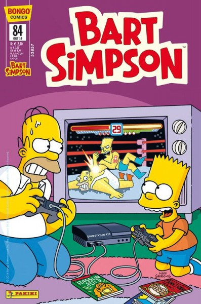 Bart Simpson Comics 84