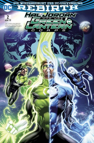 Hal Jordan und das Green Lantern Corps 2: Folter Comic Con Germany Variant