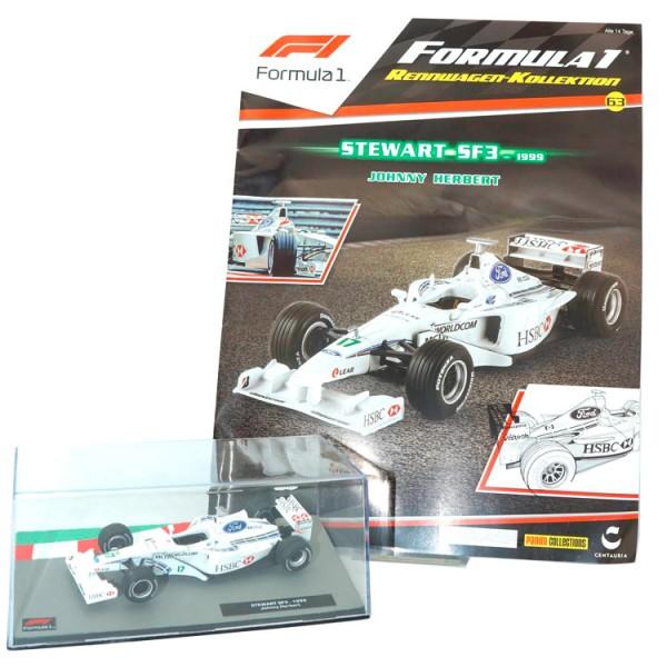 Formula 1 Rennwagen-Kollektion 63: Johnny Herbert (Stewart SF3)