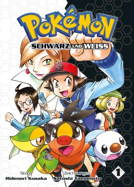 Pokémon: Schwarz und Weiss 1 Cover