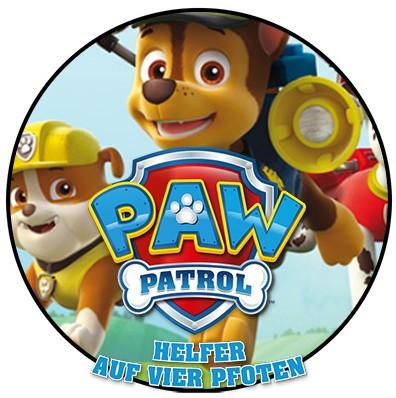 Paw Patrol – Helfer auf vier Pfoten – Sticker und Bücher