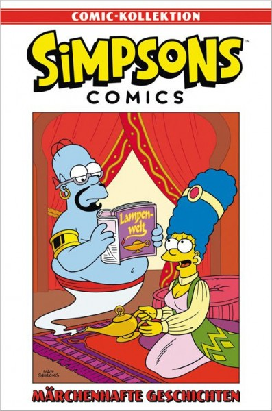 Simpsons Comic-Kollektion 26: Märchenhafte Geschichten Cover
