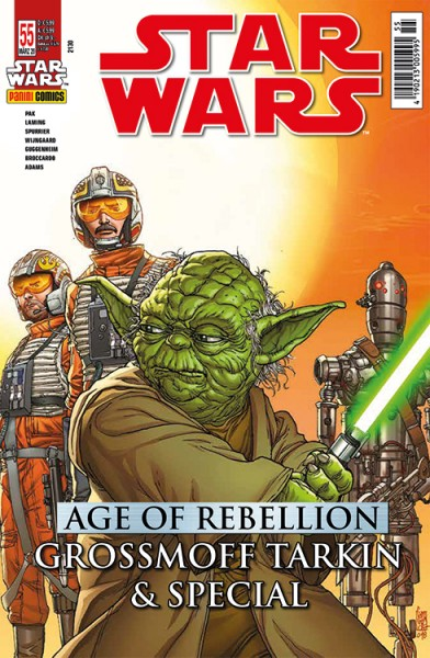 Star Wars 55: Age of Rebellion - Grossmoff Tarkin & Special - Kiosk Ausgabe
