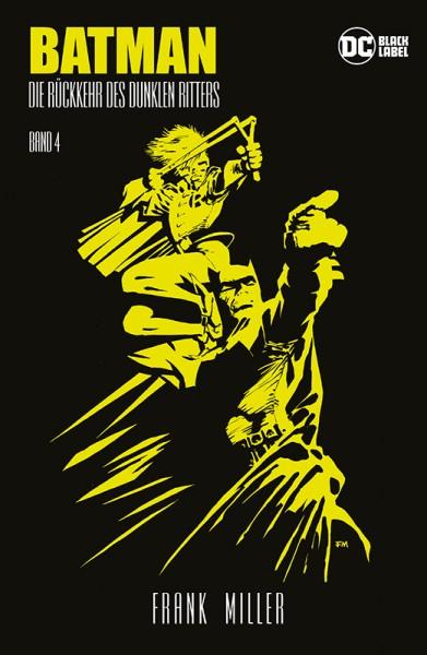 Batman: Die Rückkehr des Dunklen Ritters 4 - Alben-Edition Cover