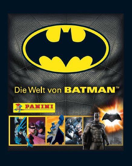 Die Welt von Batman Stickerkollektion - Tüte