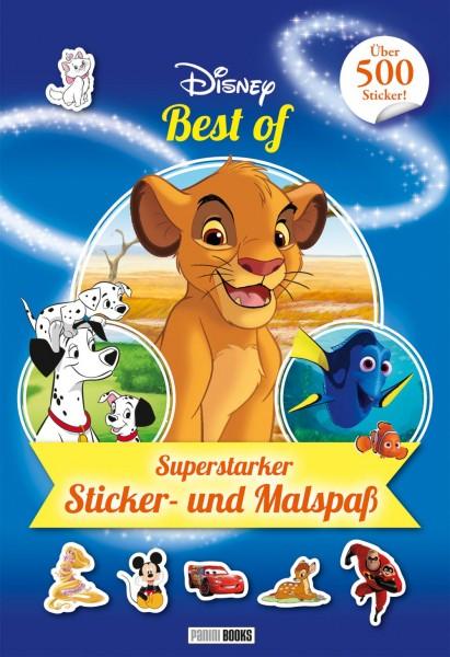 Disney Best of - Superstarker Sticker- und Malspaß Cover