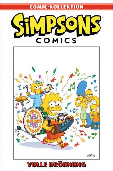 Simpsons Comic-Kollektion 19: Volle Dröhnung Cover