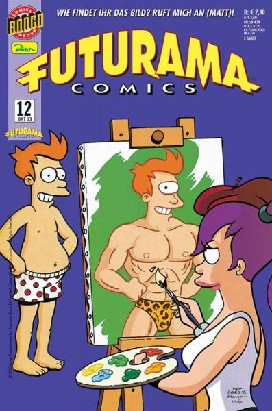Futurama Comics 12