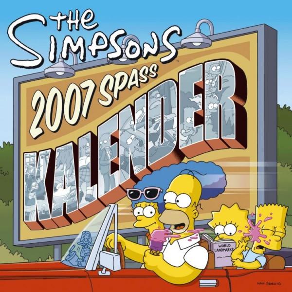 Simpsons - Spass-Kalender (2007)
