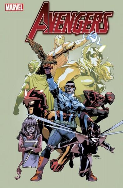 Avengers 24 (2016) Comic Salon Erlangen Variant