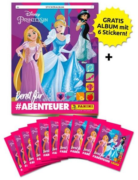 Disney Prinzessinnen: Bereit für Abenteuer Stickerkollektion – Schnupperbundle