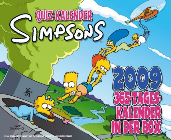 Simpsons - Quiz Kalender (2009)