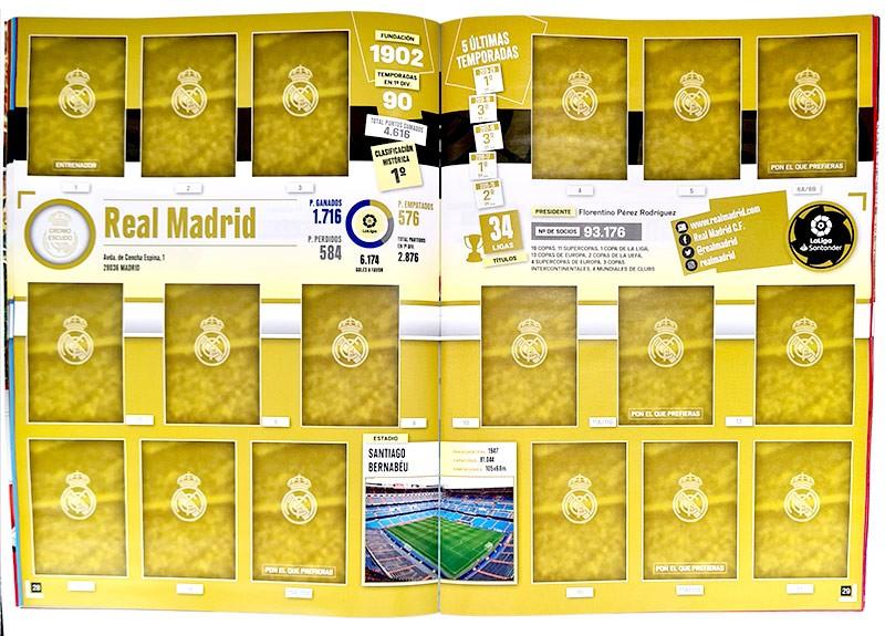 La Liga 2020-21 Stickerkollektion - Album