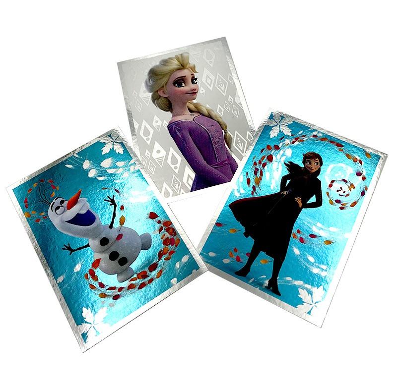 Die Eiskönigin 2 - Crystal Edition - Sticker und Cards - Spezialsticker Metallic
