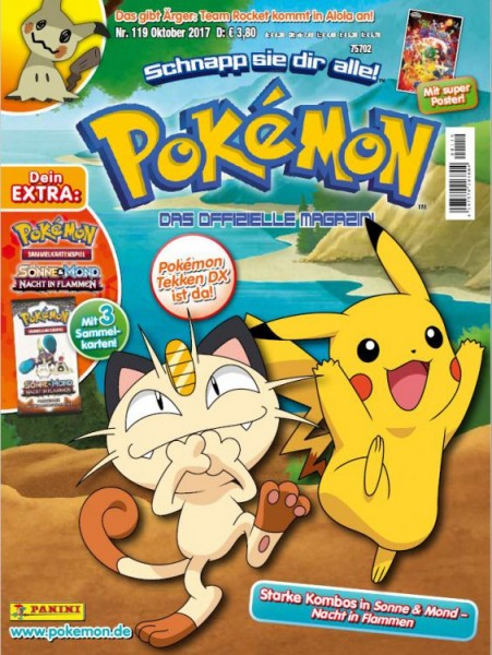 Pokémon Magazin 119