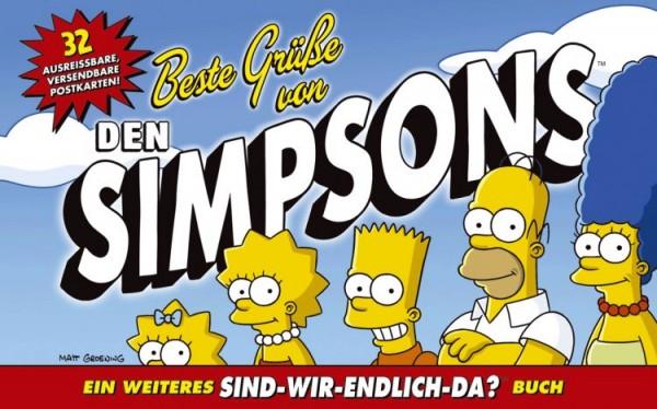 Simpsons - Postkartenbuch: Beste Grüsse von Den Simpsons