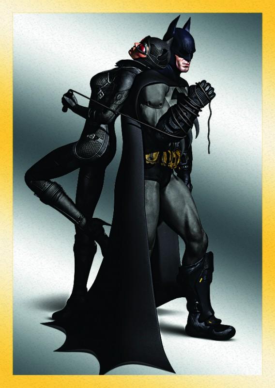 80 Jahre Batman Jubiläumskollektion: Batman und Catwoman Special Sticker Gold