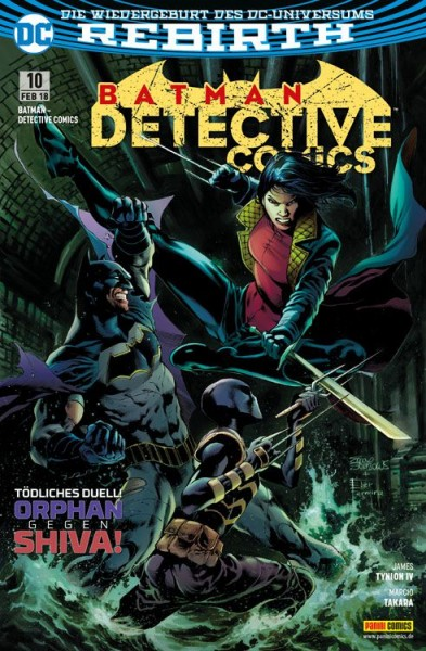 Batman: Detective Comics 10