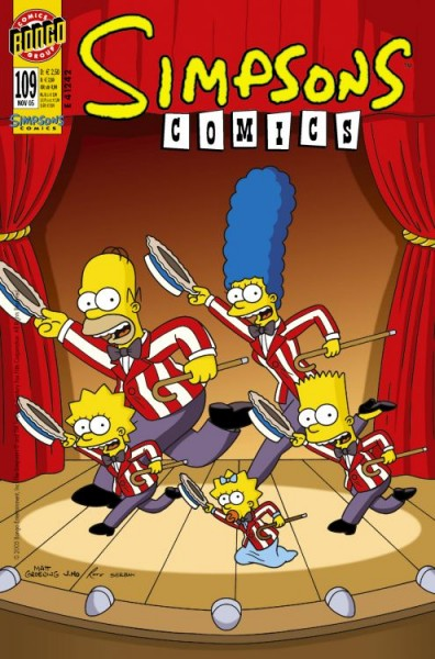 Simpsons Comics 109