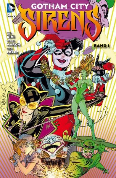 Gotham City Sirens 1