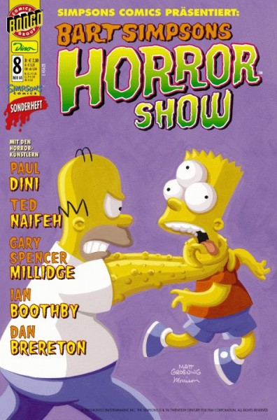 Bart Simpsons Horror Show 8