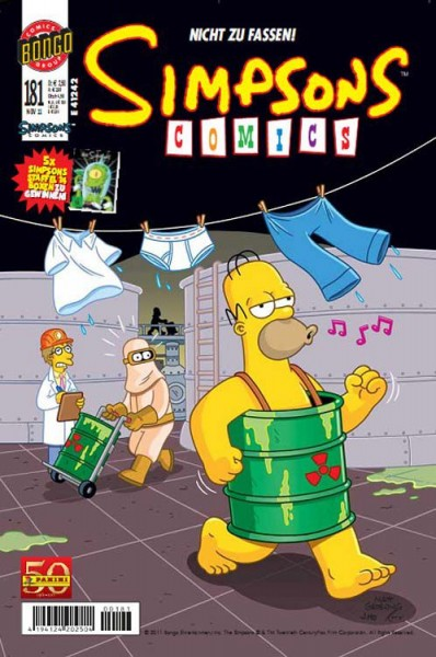 Simpsons Comics 181