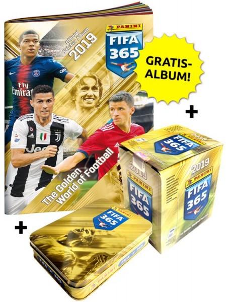 Panini FIFA 365 2019 Stickerkollektion – Mega-Bundle