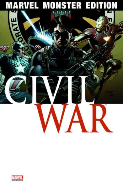Marvel Monster Edition 21: Civil War 3
