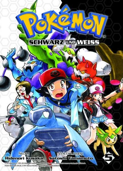 Pokémon - Schwarz und Weiss 5
