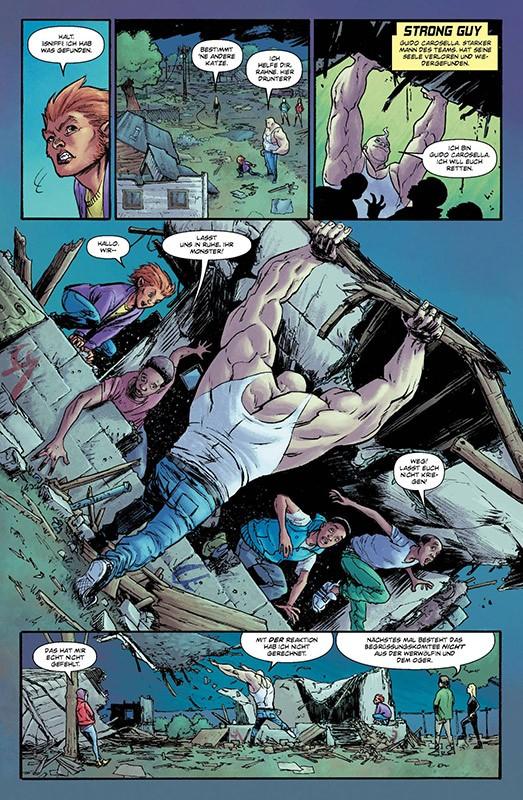 New Mutants –Die toten Seelen Blick in den Comic