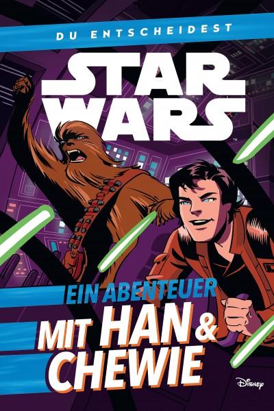 Star Wars: Du entscheidest - Ein Abenteuer mit Han & Chewie Cover