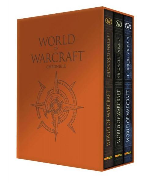 World of Warcraft Schuber: Chroniken I - III