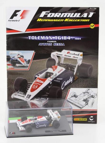 Formula 1 Rennwagen-Kollektion 12: Ayrton Senna (Toleman TG184)