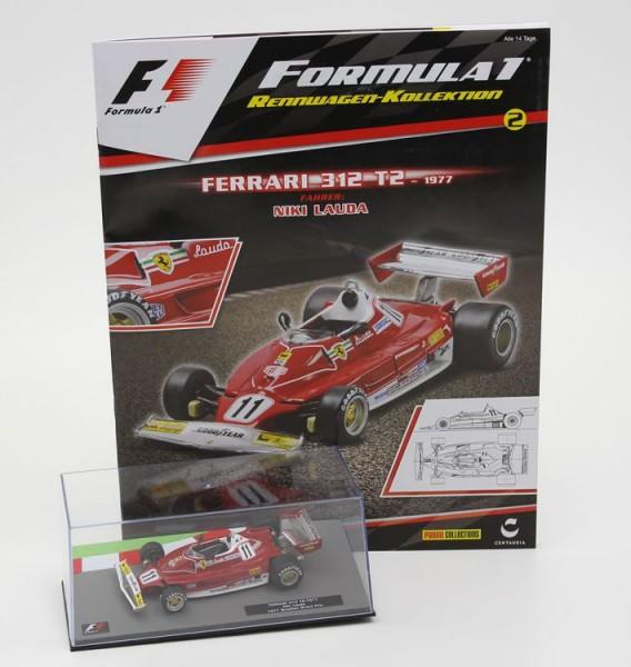 Formula 1 Rennwagen-Kollektion 2: Niki Lauda (Ferrari 312 T2)